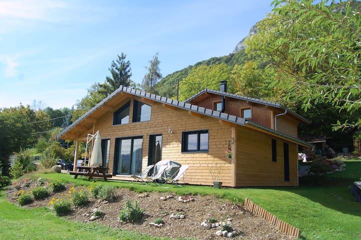 Maison bois dans les Bauges - Superbe vue - Saint-Jean-d'Arvey - House