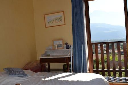 chambre bleue - Montbonnot-Saint-Martin