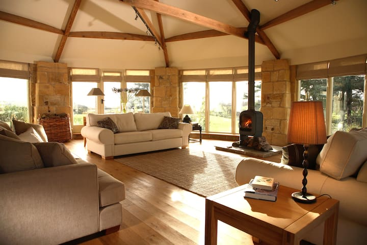 Swallows End Longframlington Luxury Holiday Barn