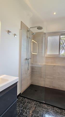 Salle de douche Italienne niveau terrasse