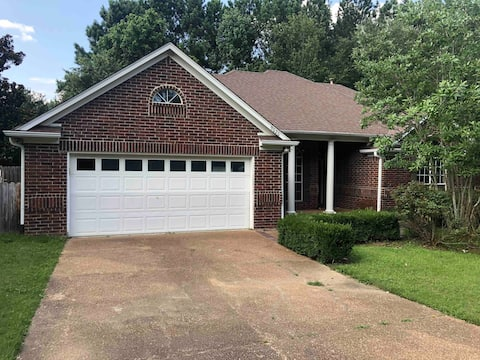 3-Bedroom Home with Pool and Backyard Privacy.