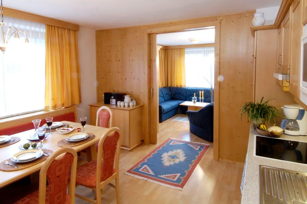 Appartement Amade und Bergkristall