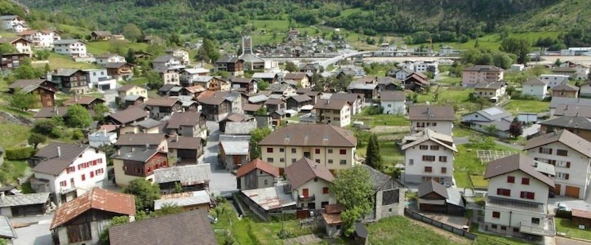 Ruhige sonnige Lage im alten Dorfteil (Aussicht)