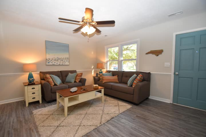 Renovated Ranch 11 min to Wrightsville, 9 min ILM