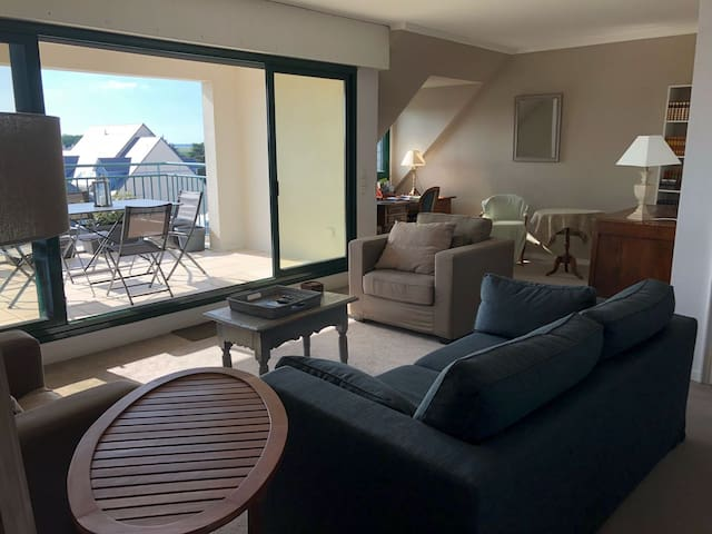 Grand appartement lumineux+ calme pouliguen centre