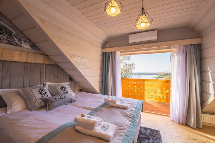 Skansen Holiday domek z 2 sypialniami