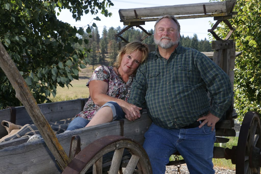 Your hosts, John & Debbie.  We look forward to you enjoying our ranch!