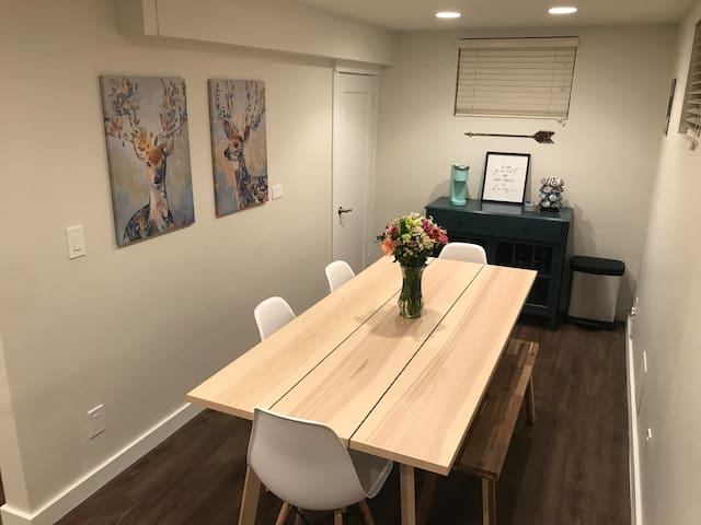 NEW! Updated Basement Suite - 4 mi to City Center
