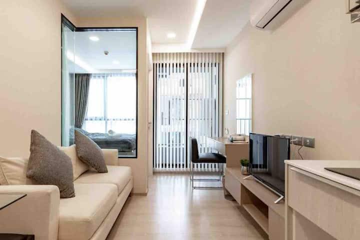 bts 通罗 日本富人区 日式温泉公寓 直达暹罗广场 NANA