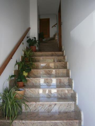 Escaleras que se comparten