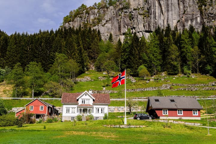 Beautiful Træland Farm - annex