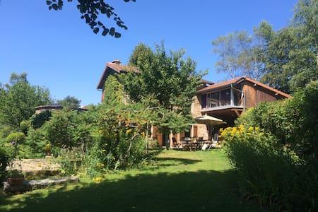 Maison de campagne avec jardin au coeur du Forez - Job - Rumah