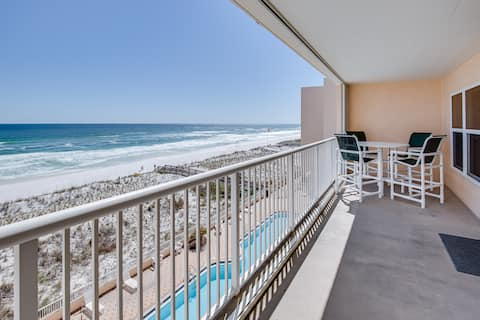 ISLANDER BEACH 5TH FLOOR GULF VIEW CONDO - 2BD/2BA