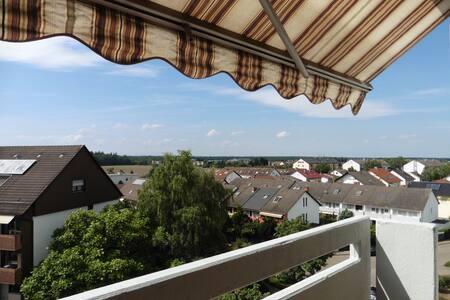 Stadtnahe 3-Zimmer-Wohnung mit eigener Sauna - Stutensee