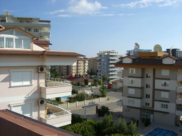 Kamer met schitterend uitzicht en terras - Alanya