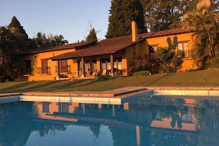 Casa Amarela do Porto de Ibiúna - Ibiúna - บ้าน