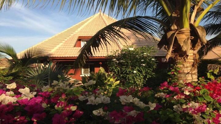 Prestigieuse villa en bord de mer a La Mangrove