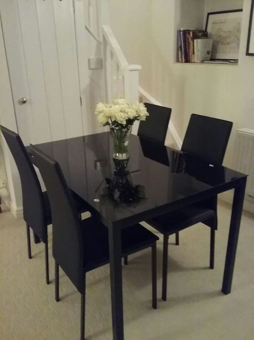 Take a seat. Perfect for a self catered meal.