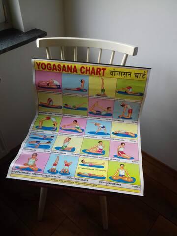 Köln Sülz Zentral- nettes Yoga Zimmer