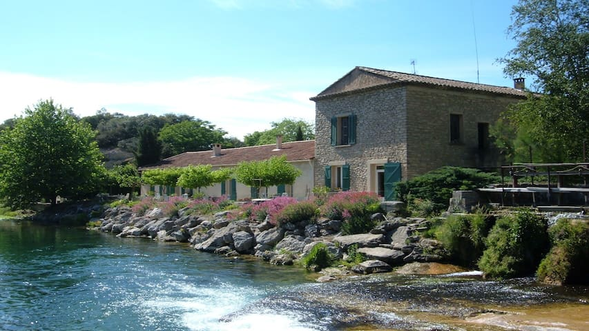 studio du moulin de l'aqueduc - Fontaine-de-Vaucluse - Appartement