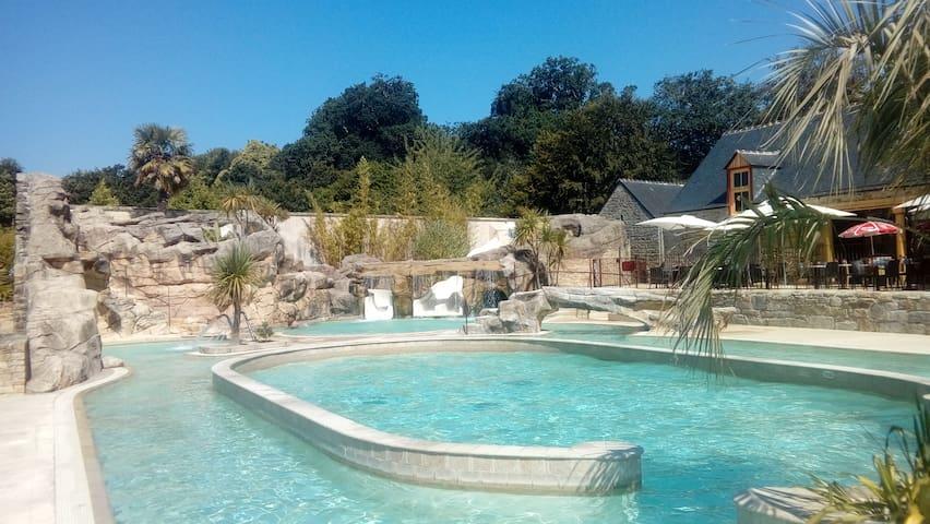 Vacances à Quimper en camping 5*