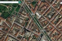 mappa dall'alto