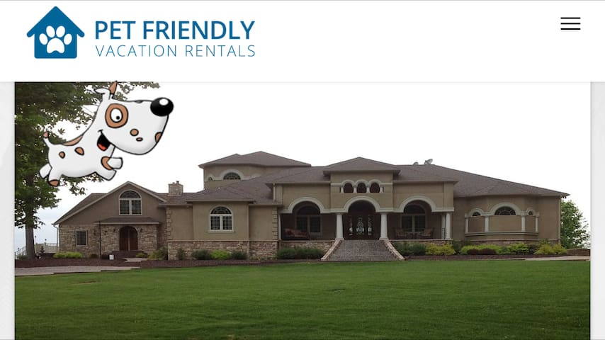 Luxurious water front mansion - Earleville - Appartement