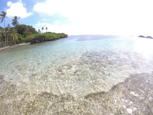 Casa-cabaña Jefe Indio /Playa Cacique