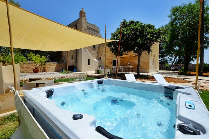 Masseria Chianca with Jacuzzi