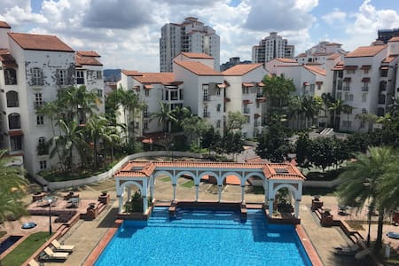 The Cozy Spaniard - Private Room, pool and balcony - Kuala Lumpur - Lägenhet