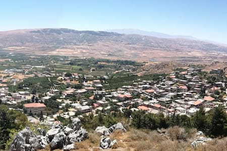 Entire space in West Bekaa for the hunting season