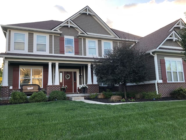 Suburban Home with 6 BRs