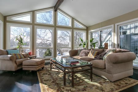 Set amid woods and water, 2 bd 2bth - North Barrington