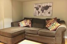 Cozy, quiet, basement suite with private entrance