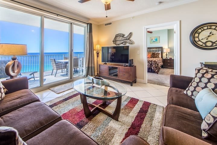GULF Front Balcony☼Gulf Front Pools☼2Step Sanitizing Process☼2BR Ocean Reef 1708