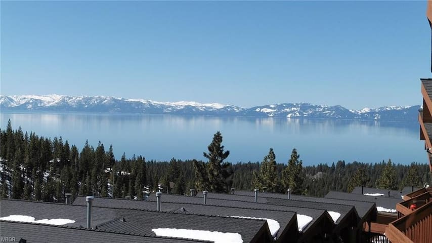 Spectacular Lake Tahoe View Townhome