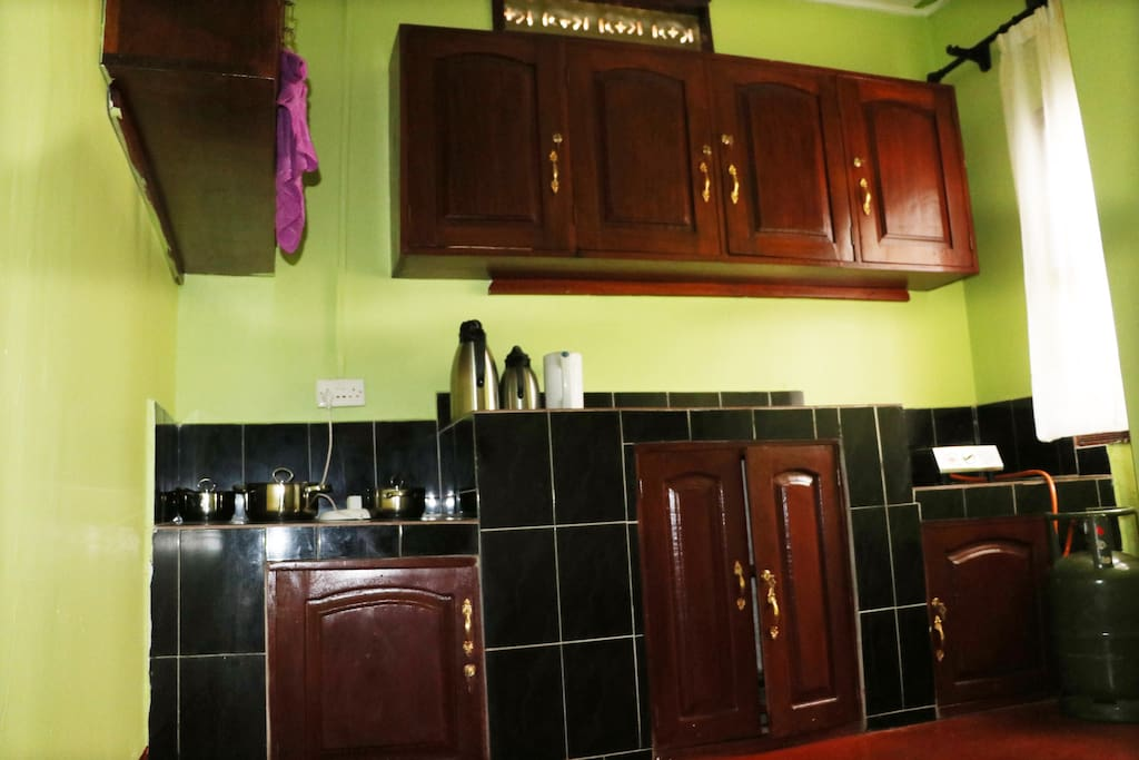 Kitchen at Rugaju homestay