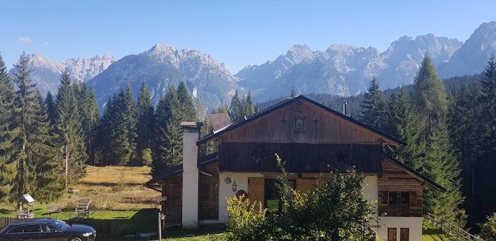 B&B Tabiarel, Chalet incantato nel parco Dolomiti