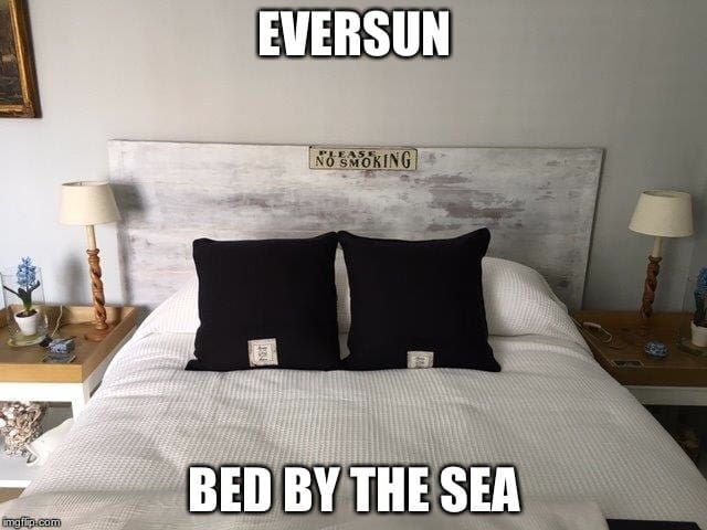 Eversun bed by the sea (bed & bycicle.)  Centrum - Vlissingen - Pis