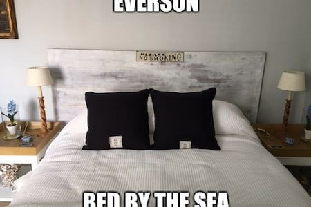 Eversun bed by the sea (bed & bycicle.)  Centrum - Vlissingen - Appartement