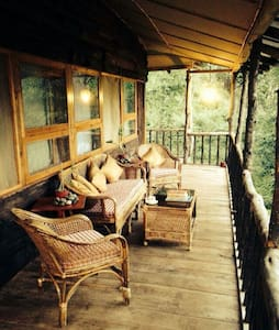 Jungle cottages in the himalayas - Hee-Gyathang - Kabin