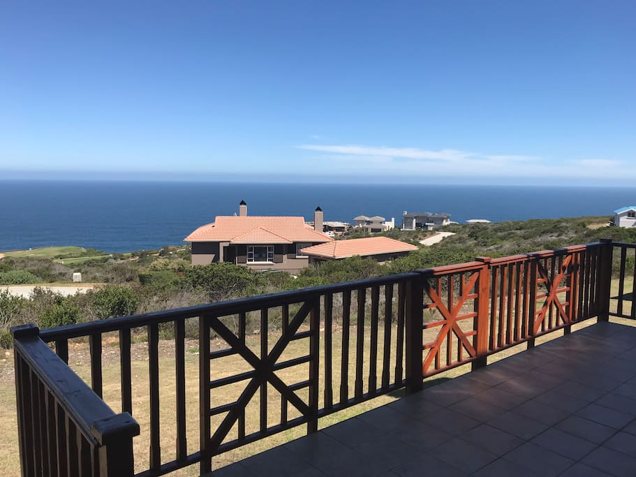 View from the patio (sea, fynbos etc)