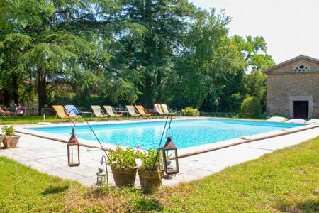 Le Verger de l'Espargne, grand gîte & piscine