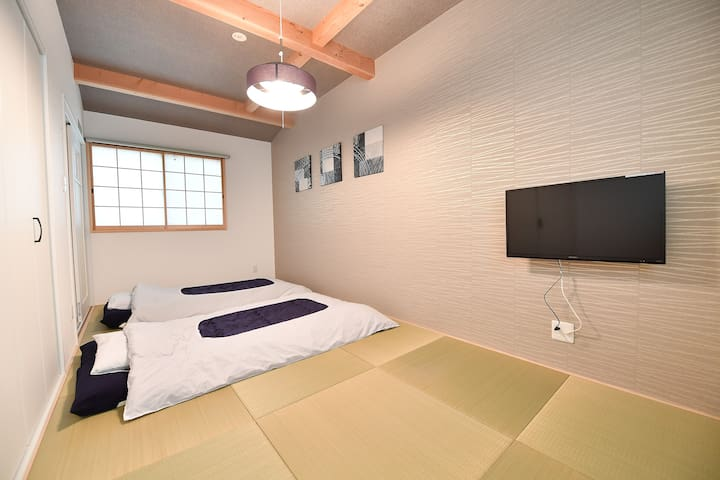 Modern Home#A 1BR-- Free Pocket Wifi & Bicycles