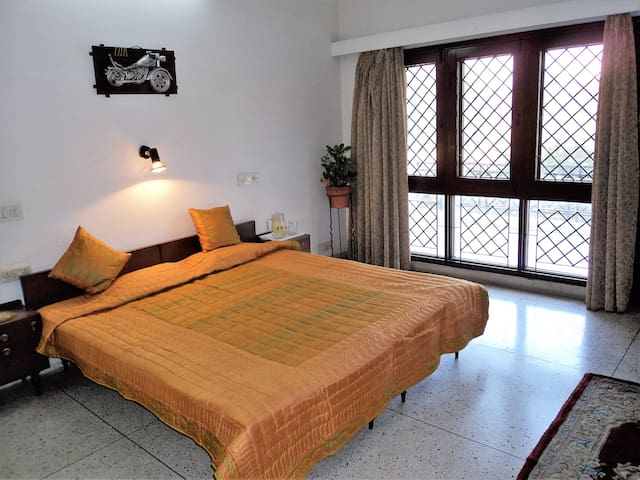 Very comfortable room with Dressing,& Living Room,