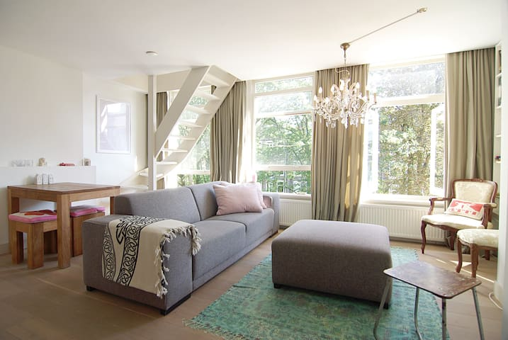 ROMANTIC apt. for a cozy stay at A'dam west area!