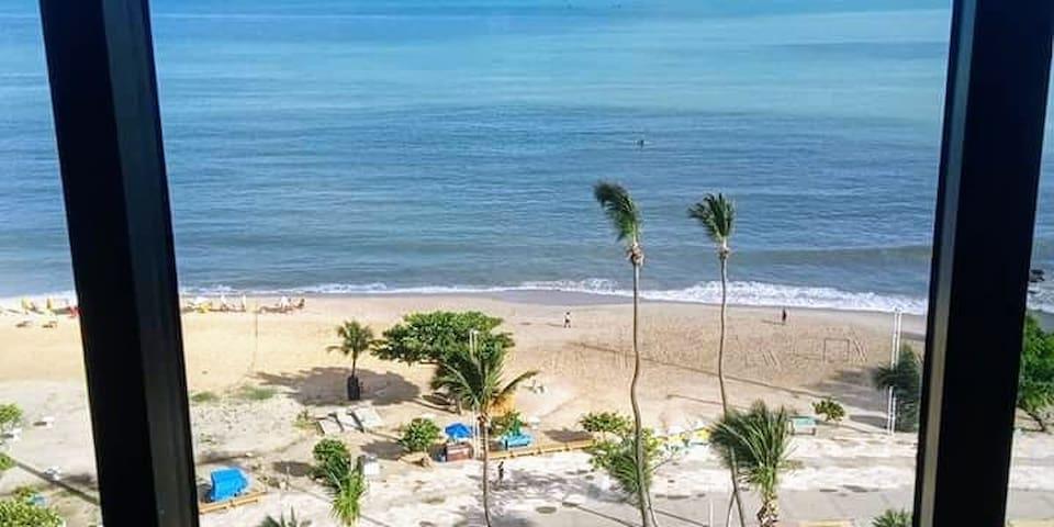 Vista total, Avenida Beira Mar Fortaleza.