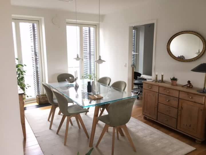 Bright and luxury apartment in the heart of Aarhus