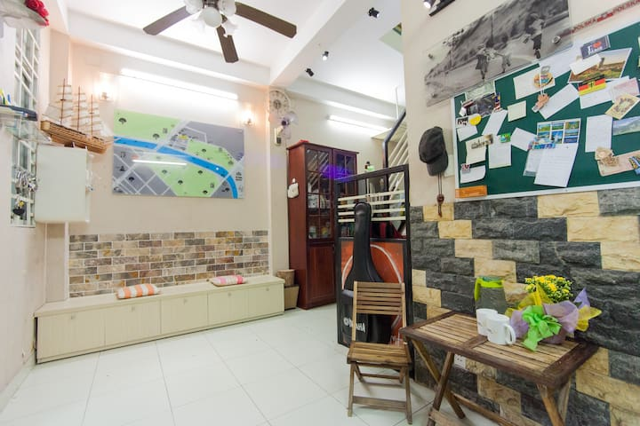 homestay at central park & bus stop - Ho Chi Minh City - House