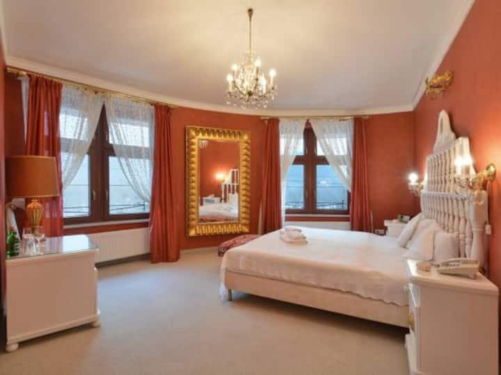 Ekskluzywny apartament z kominkiem a'la LUDWIK XIV
